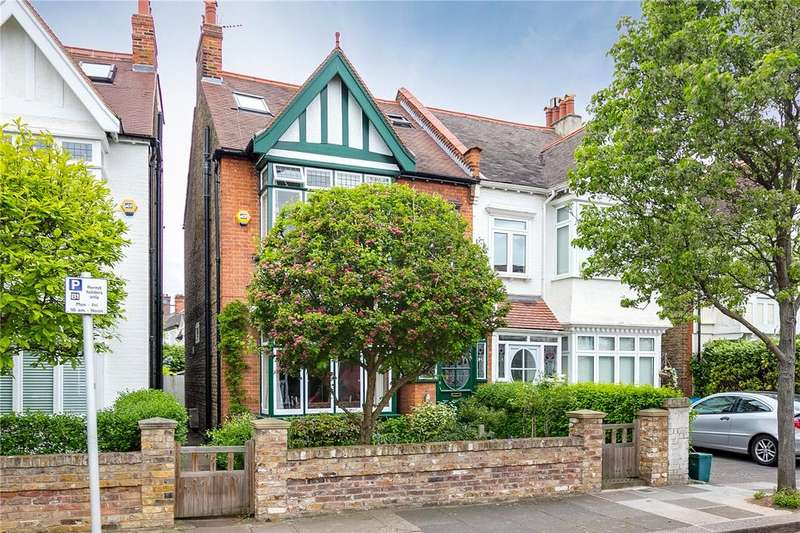 6 Bedrooms Semi Detached House for sale in Madrid Road, Barnes, London