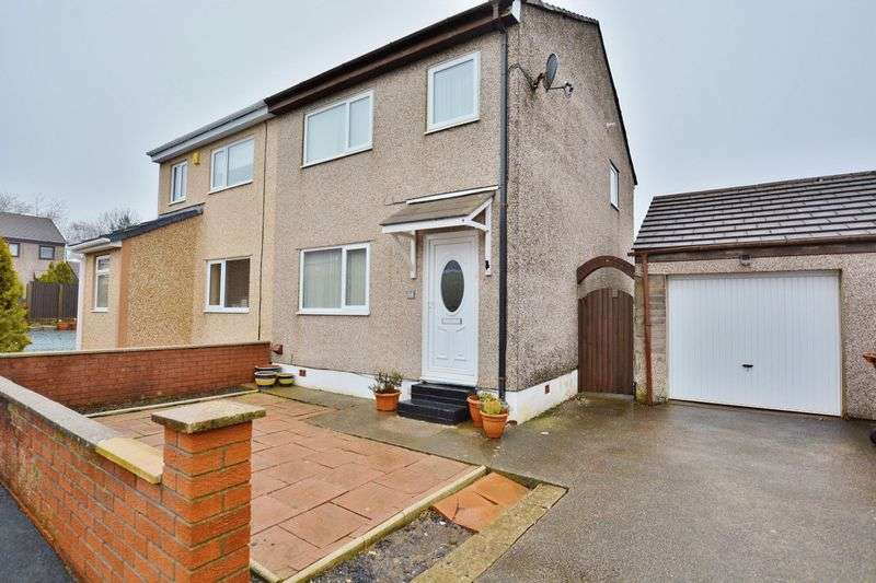 3 Bedrooms Semi Detached House for sale in Winchester Drive, Whitehaven