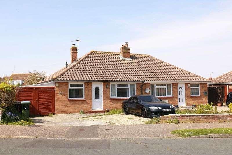 2 Bedrooms Semi Detached Bungalow for sale in Mansfield Road, Bognor Regis