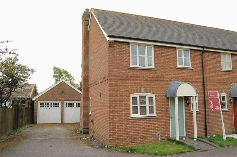 2 Bedrooms End Of Terrace House for sale in John Hall Court, Offley, Hertfordshire