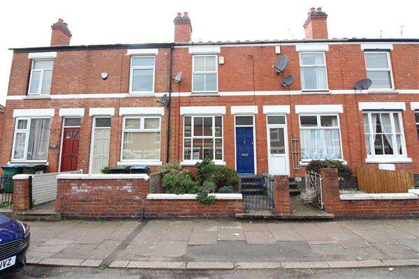 2 Bedrooms Terraced House for sale in Melbourne Road, Earlsdon, Coventry
