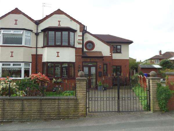 4 Bedrooms Semi Detached House for sale in Enville Road, Manchester
