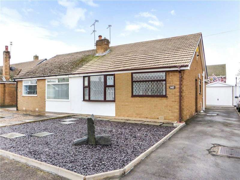 2 Bedrooms Semi Detached Bungalow for sale in Eastpines Drive, Anchorsholme, Thornton Cleveleys