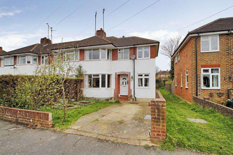 3 Bedrooms End Of Terrace House for sale in Vale Drive, Horsham