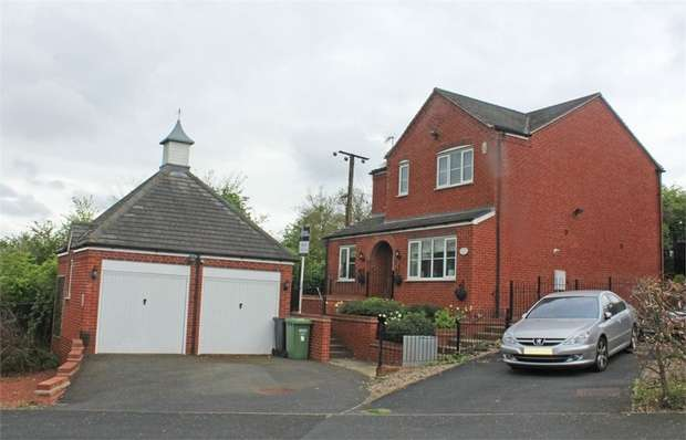 4 Bedrooms Detached House for sale in Hawthorn Rise, Tibberton, Droitwich, Worcestershire