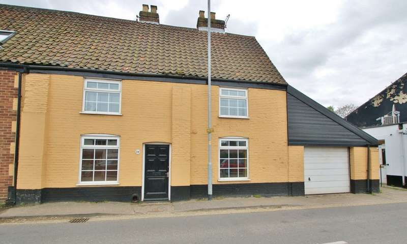 3 Bedrooms Semi Detached House for sale in George Hill, Norwich