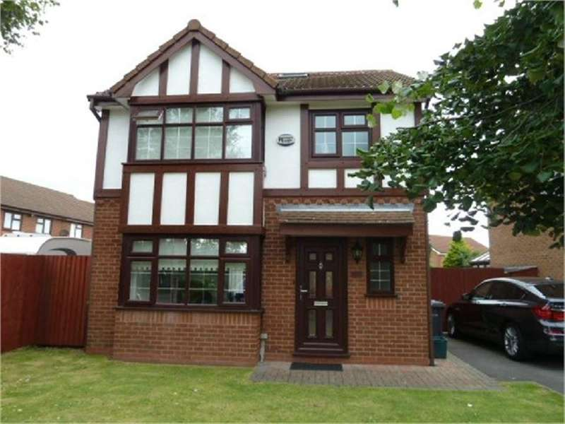 4 Bedrooms Detached House for sale in Fernbank Drive, Ford, Liverpool, L30