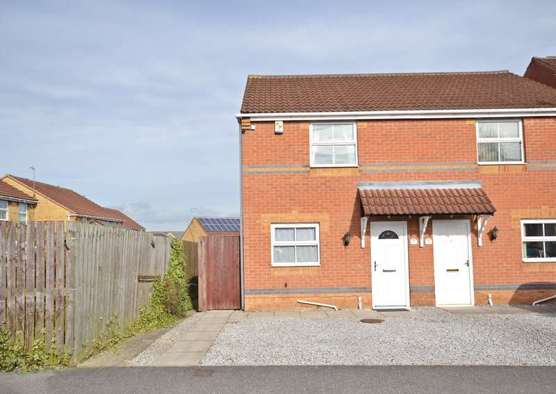 2 Bedrooms Semi Detached House for sale in Beachill Crescent, Havercroft, Wakefield