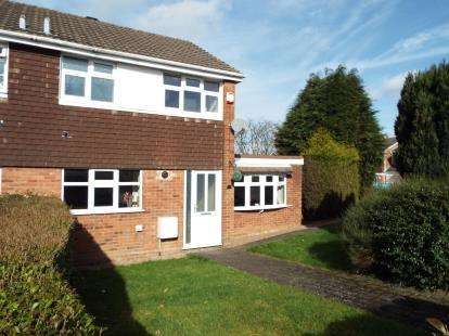 3 Bedrooms Semi Detached House for sale in Langholm Drive, Heath Hayes, Cannock, Staffordshire
