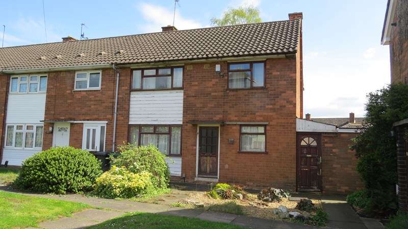 3 Bedrooms Town House for sale in Hurstbourne Crescent, East Park, Wolverhampton