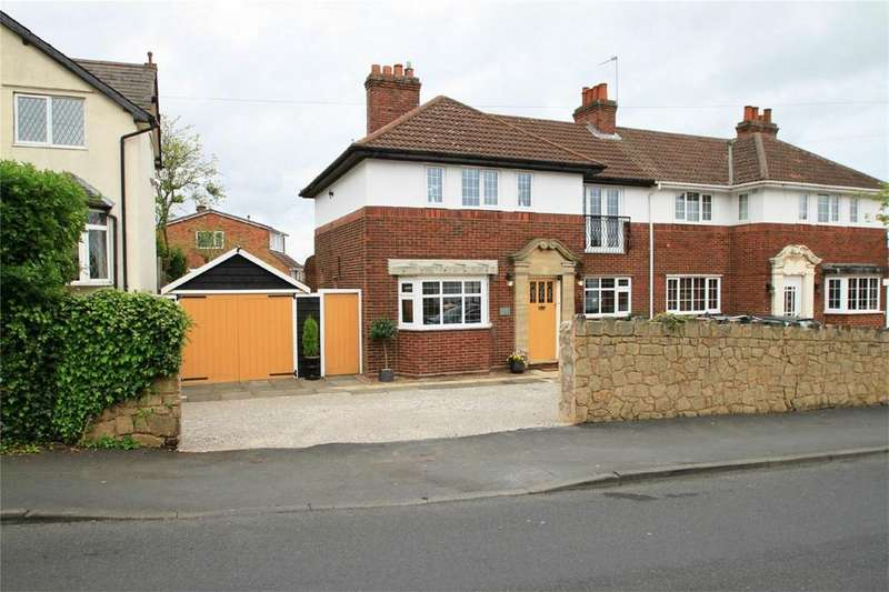 3 Bedrooms Semi Detached House for sale in Tansley Hill Road, Oakham, DUDLEY, West Midlands