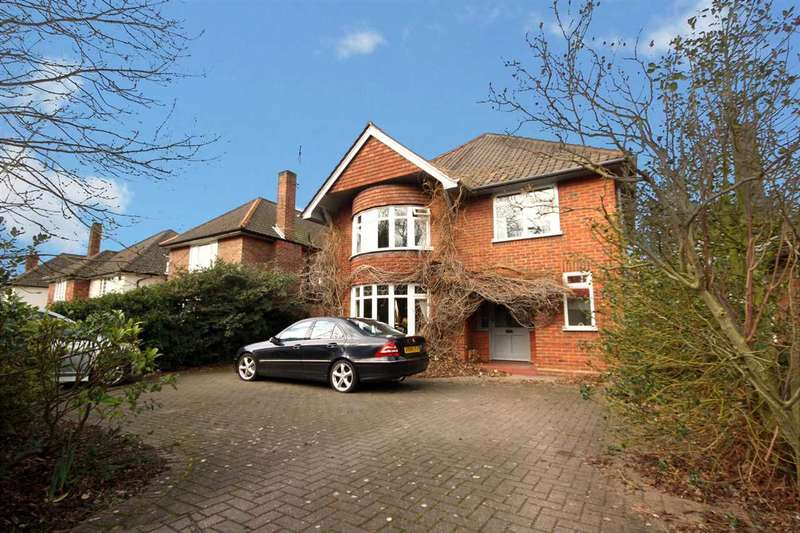 4 Bedrooms Detached House for sale in Valley Road, ipswich
