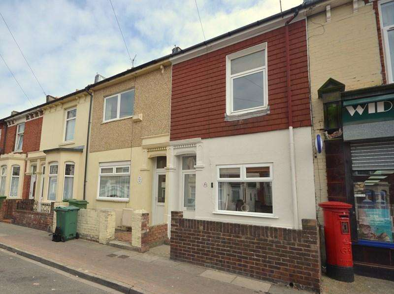 3 Bedrooms Terraced House for sale in Widley Road, Stamshaw, Portsmouth