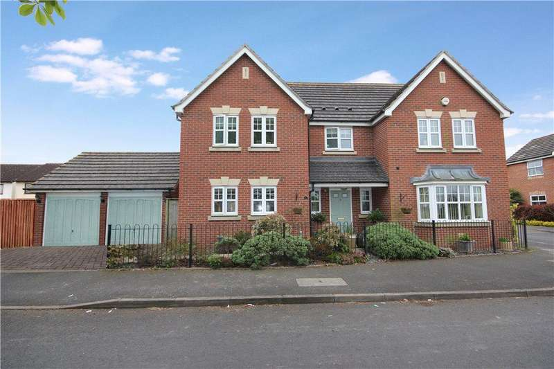 4 Bedrooms Detached House for sale in Bredon Drive, Kings Acre, Hereford, HR4