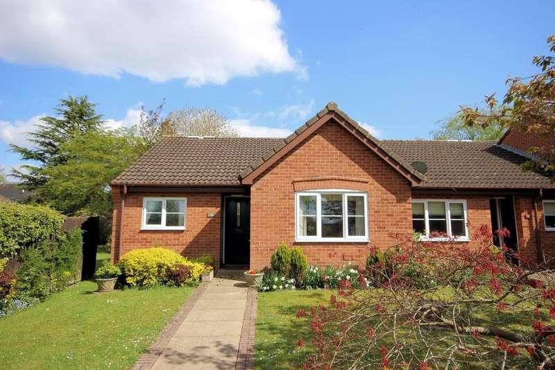 2 Bedrooms Semi Detached Bungalow for sale in Tutbury Close, Ashby-de-la-Zouch