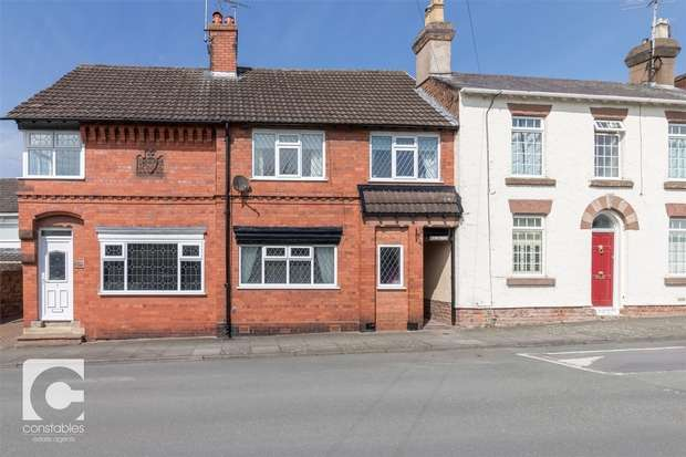 2 Bedrooms Terraced House for sale in The Green, Little Neston, Neston, Cheshire