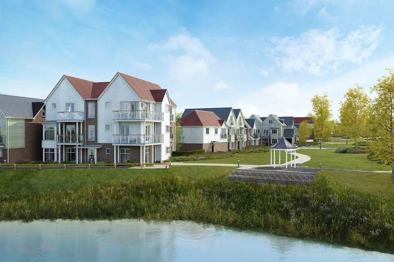 2 Bedrooms Apartment Flat for sale in Holborough Lakes, Manley Boulevard, Holborough, ME6