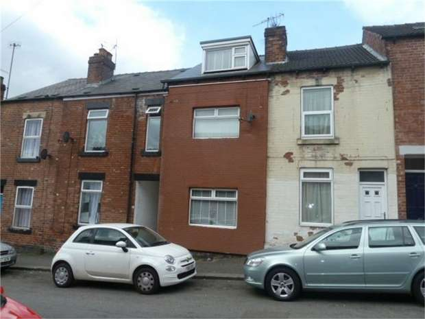 4 Bedrooms Terraced House for sale in Ellerton Road, Sheffield, South Yorkshire