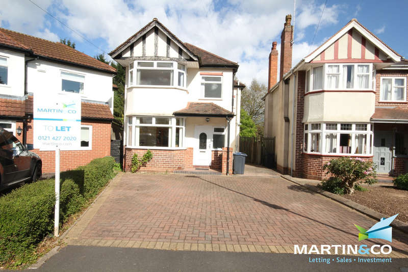 3 Bedrooms Detached House for rent in Wheats Avenue, Harborne, B17
