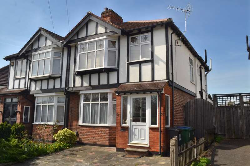 3 Bedrooms Semi Detached House for sale in St. Albans Road, Garston Watford