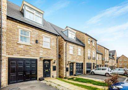4 Bedrooms Terraced House for sale in Marlington Drive, Huddersfield, West Yorkshire, Yorkshire