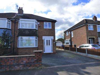 3 Bedrooms Semi Detached House for sale in Fulmar Drive, Sale, Trafford, Greater Manchester