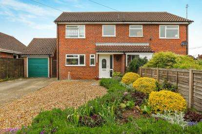 3 Bedrooms Semi Detached House for sale in Attleborough, Norwich, Norfolk