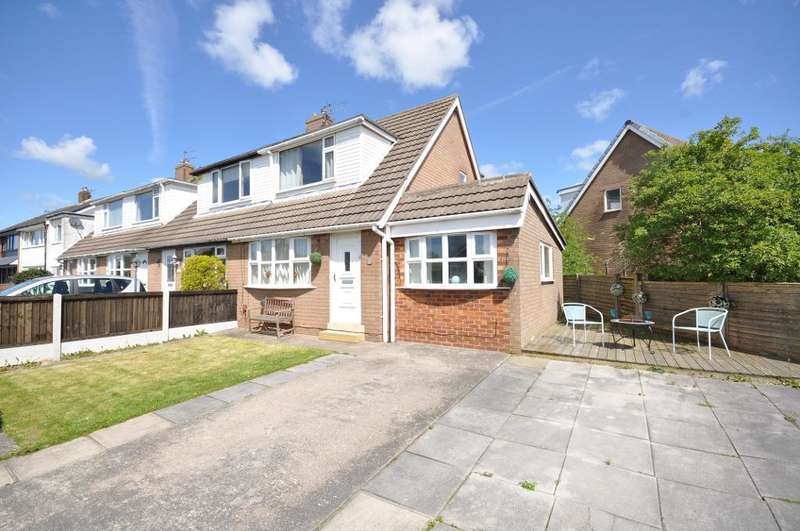 3 Bedrooms End Of Terrace House for sale in Poplar Avenue, Warton, Preston, Lancashire, PR4 1BS