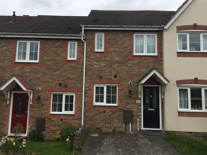 2 Bedrooms Terraced House for sale in Hatters Court, Bedworth, Warwickshire, CV12