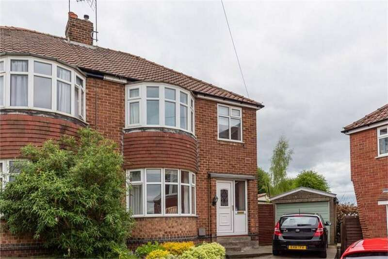 3 Bedrooms Semi Detached House for sale in Howe Hill Close, Holgate, YORK