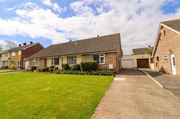 2 Bedrooms Semi Detached Bungalow for sale in Seymour Road, Street