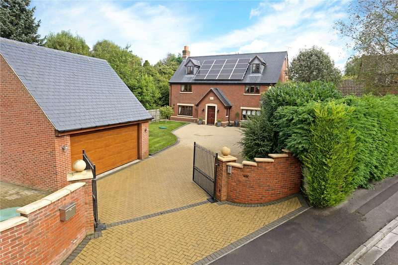 5 Bedrooms Detached House for sale in Huntenhull Lane, Chapmanslade, Wiltshire, BA13