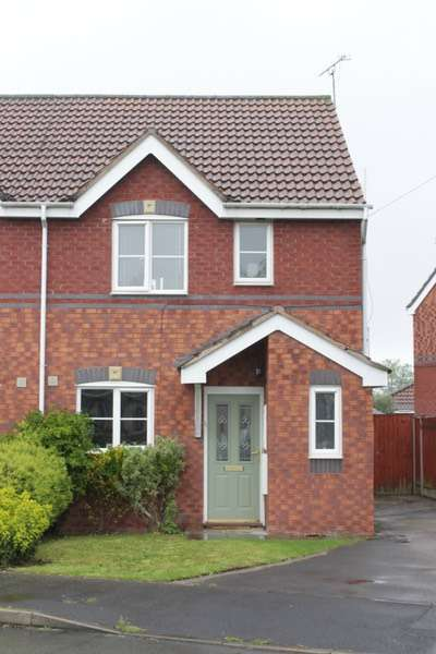 3 Bedrooms Semi Detached House for sale in Somerville Crescent, Ellesmere Port, Cheshire, CH65
