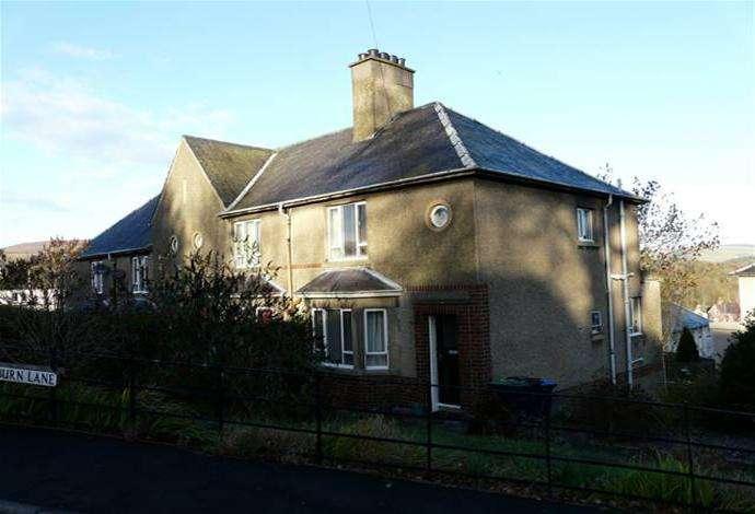 2 Bedrooms Terraced House for sale in 1 Raeburn Lane, Selkirk, TD7 4HP