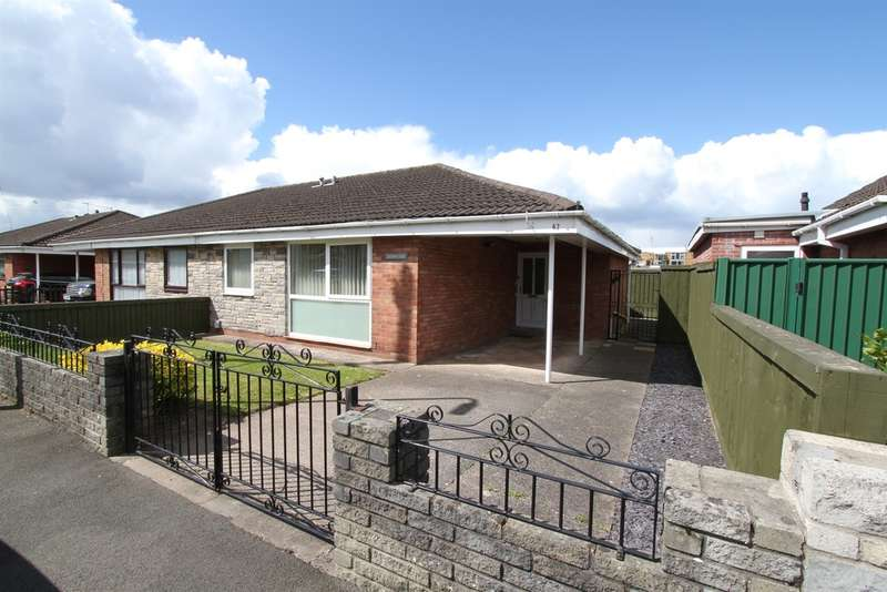 3 Bedrooms Semi Detached Bungalow for sale in Fosse Road, Newport