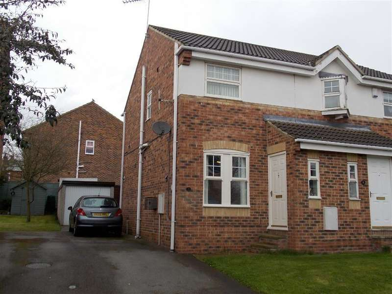 2 Bedrooms Semi Detached House for sale in Park Close, Ryhill, WAKEFIELD, WF4