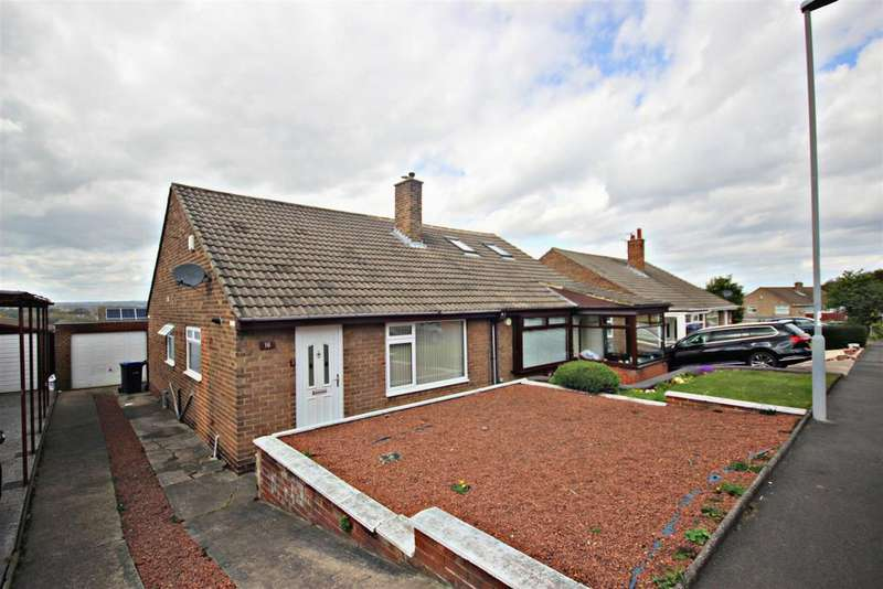 2 Bedrooms Semi Detached Bungalow for sale in Caledonia, Great Lumley, Chester Le Street