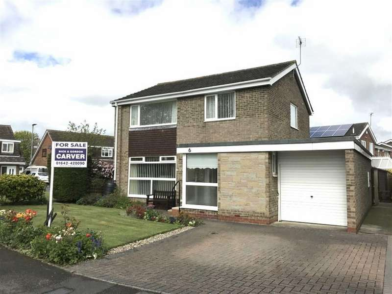 3 Bedrooms Detached House for sale in Spell Close, Yarm, Cleveland