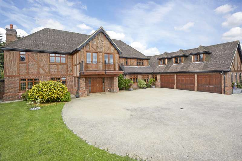 6 Bedrooms Detached House for sale in The Ridge, Epsom, Surrey, KT18