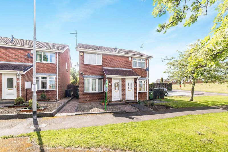 2 Bedrooms Semi Detached House for sale in Kepier Chare, Ryton, NE40