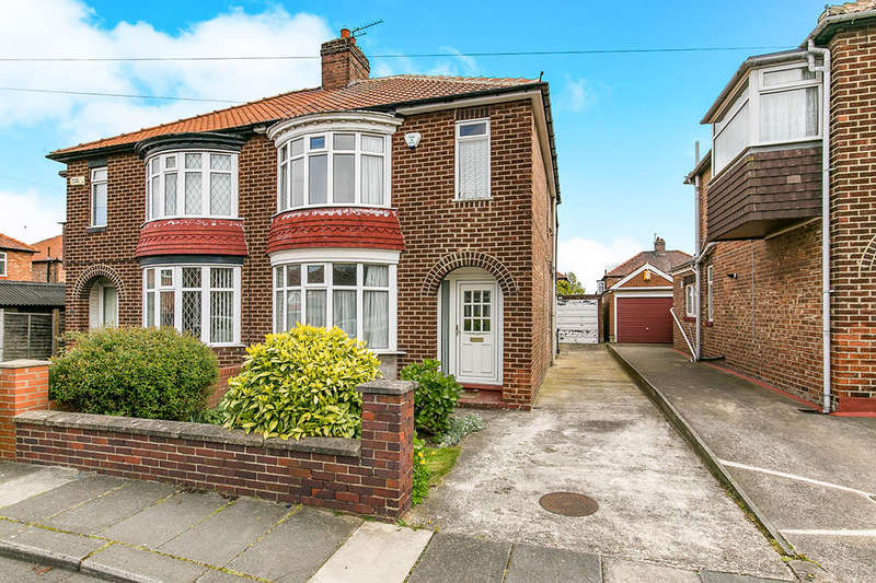 3 Bedrooms Semi Detached House for sale in Grasmere Avenue, Middlesbrough, TS5