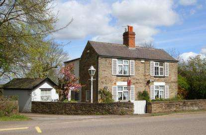 4 Bedrooms Detached House for sale in Top Road, Calow, Chesterfield, Derbyshire