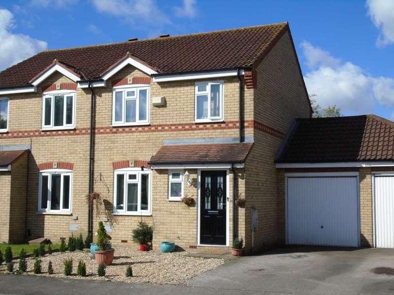 3 Bedrooms Semi Detached House for sale in Wymondham, Monkston