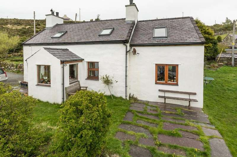 3 Bedrooms Cottage House for sale in Fachwen, Caernarfon, North Wales