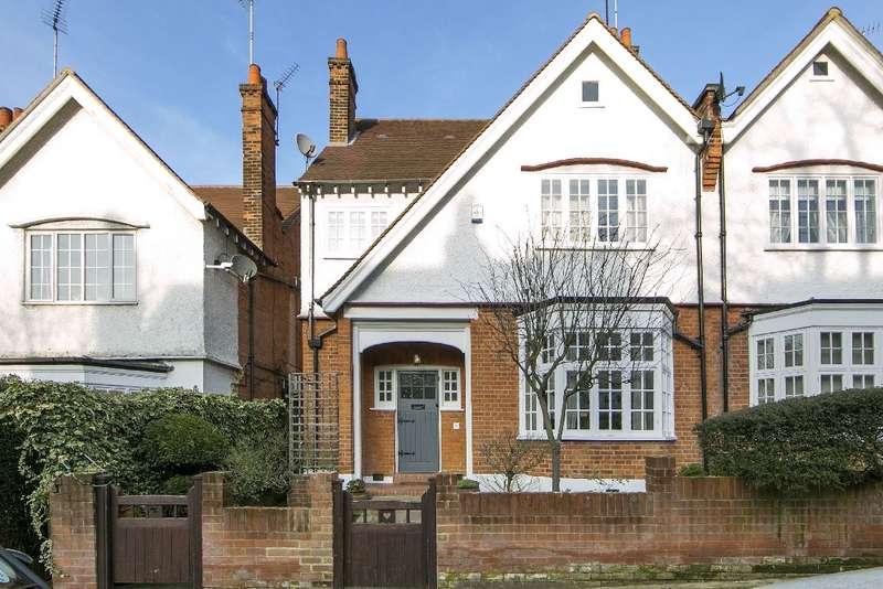 4 Bedrooms House for sale in Briardale Gardens, Hampstead, NW3