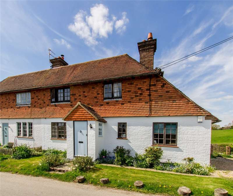 2 Bedrooms Semi Detached House for sale in Summertree Cottages, Bodle Street Green
