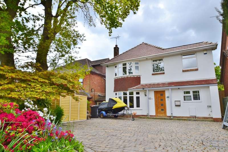 4 Bedrooms Detached House for sale in Branksome
