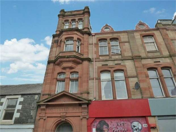 2 Bedrooms Flat for sale in High Street, Galashiels, Scottish Borders