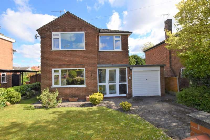 3 Bedrooms Detached House for sale in Manston Drive, Cheadle Hulme