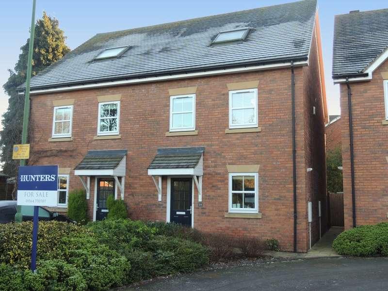 3 Bedrooms Semi Detached House for sale in Fennis Close, Dorridge